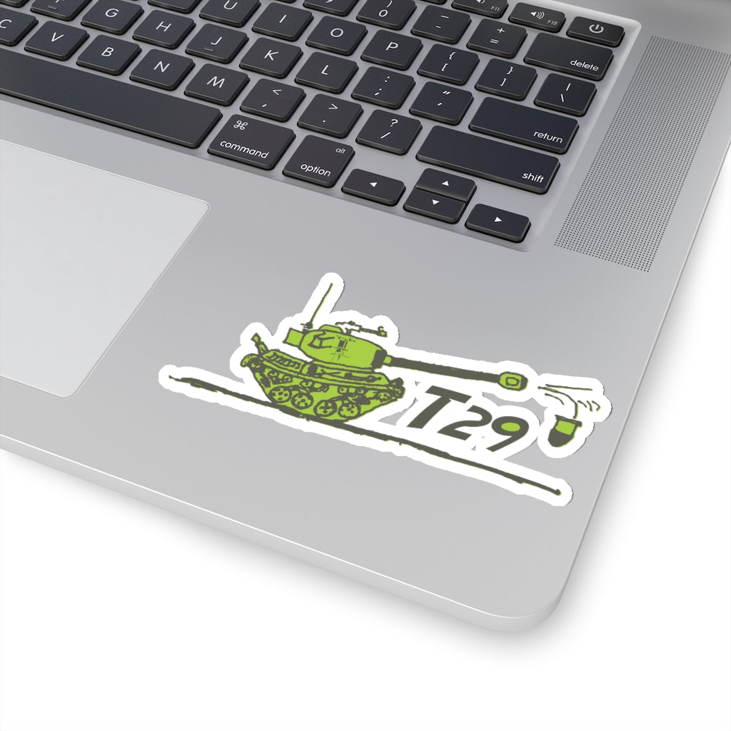 T29 BY TOM THE DUKE JAVNER  Kiss-Cut Stickers