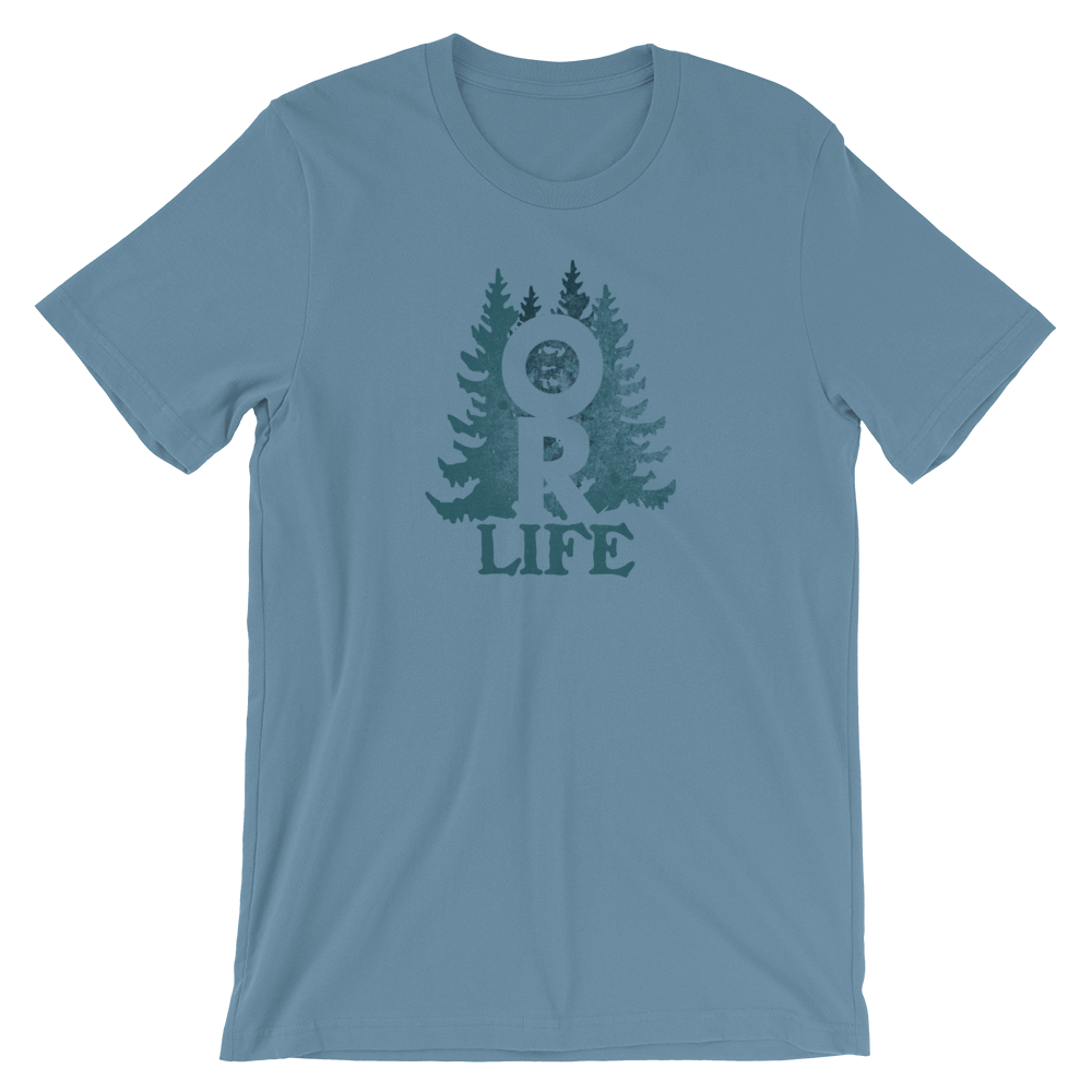 Oregon Life Unisex Tee by Oregon Wear - TaterSkinz