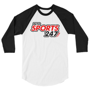 INTO SPORTS 247 PRO WEAR 3/4 sleeve raglan shirt - TaterSkinz