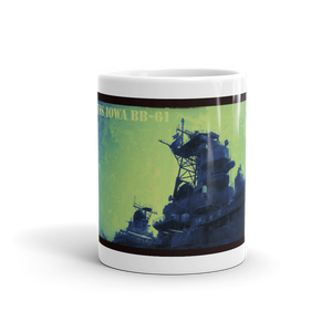 USS IOWA BB-61 Mug - Tom Tate Studios
