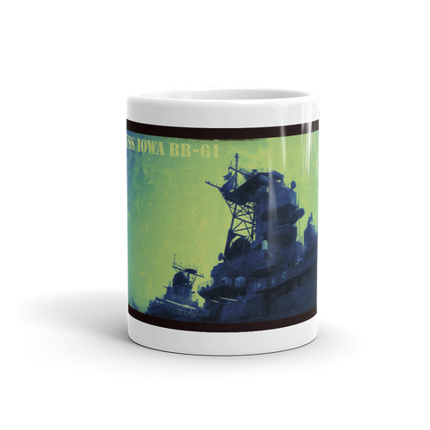 USS IOWA BB-61 Mug