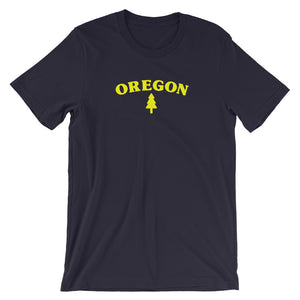 Oregon Tree Short-Sleeve Unisex T-Shirt Oregon Merch - TaterSkinz