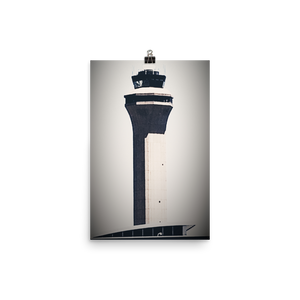 Houston George Bush Intercontinental Airport Poster IAH Texas i FOTO 360 by Tom Tate - TaterSkinz