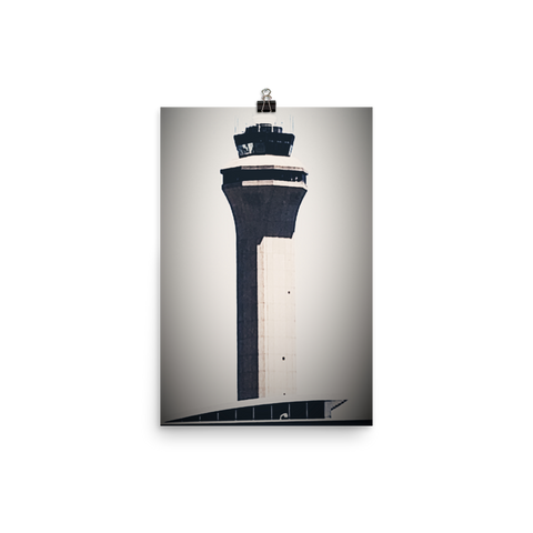 Houston George Bush Intercontinental Airport Poster IAH Texas i PHOTO 360 by Tom Tate - TaterSkinz