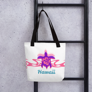 Tribal Turtle Hawaii Tote bag - TaterSkinz
