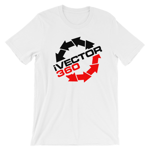 iVECTOR360 I Vector 360 .Com Unisex Tee - TaterSkinz