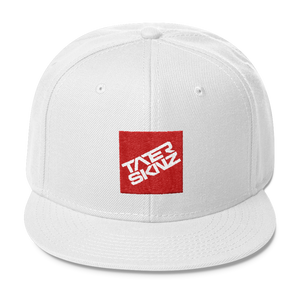 TaterSkinz Badge Wool Blend Snapback - TaterSkinz