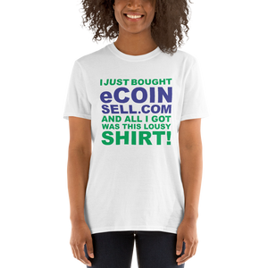 eCoinsell T-Shirt and Domain for sale - TaterSkinz