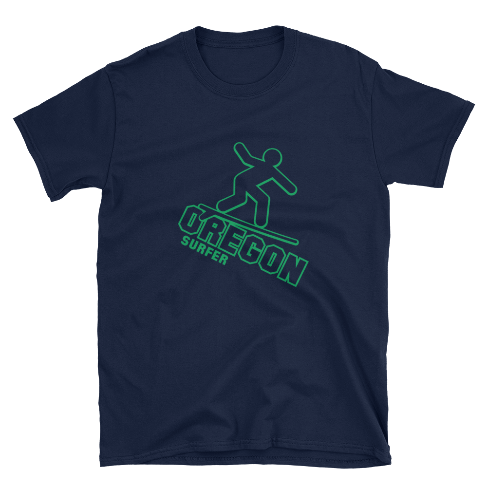 Oregon Surfer Tee Oregon Merch - TaterSkinz