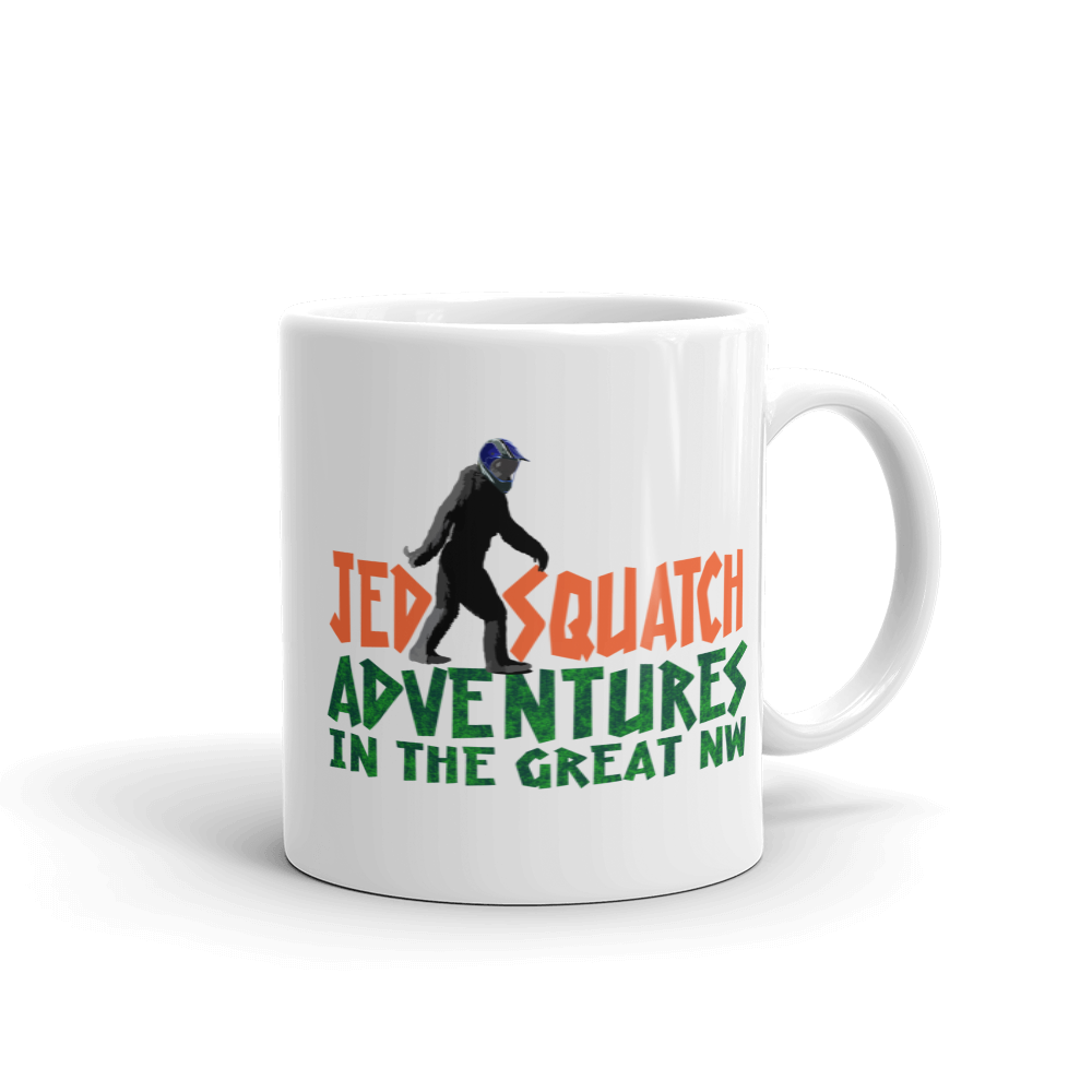 JedSquatch Adventures in the Great Northwest Mug - TaterSkinz
