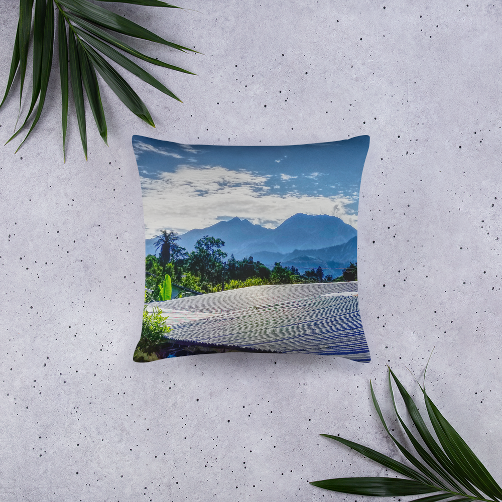 Volcan Baru Panama Basic Pillow Yr Decor Your Decoration - TaterSkinz