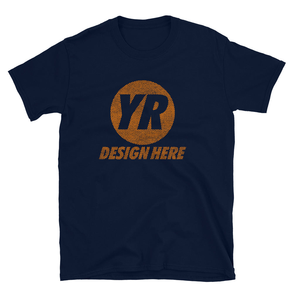 YOUR DESIGN HERE on a Unisex Basic Softstyle T-Shirt | Gildan 64000 - TaterSkinz