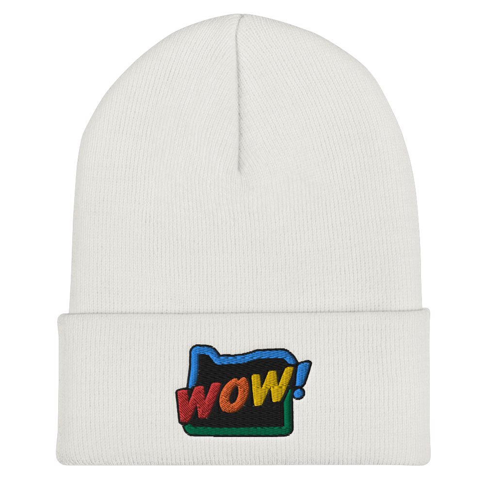 OREGON WOW RAINBOW beanie - TaterSkinz