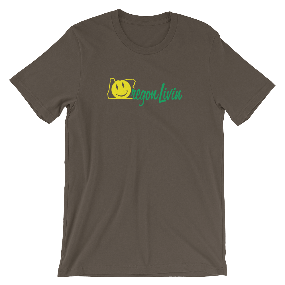 OREGON LIVIN Tee Oregon Merch - TaterSkinz