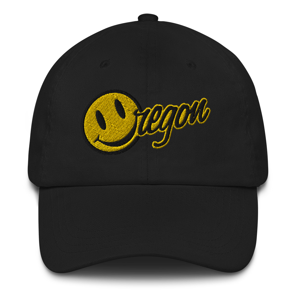 Happy Oregon Face cap