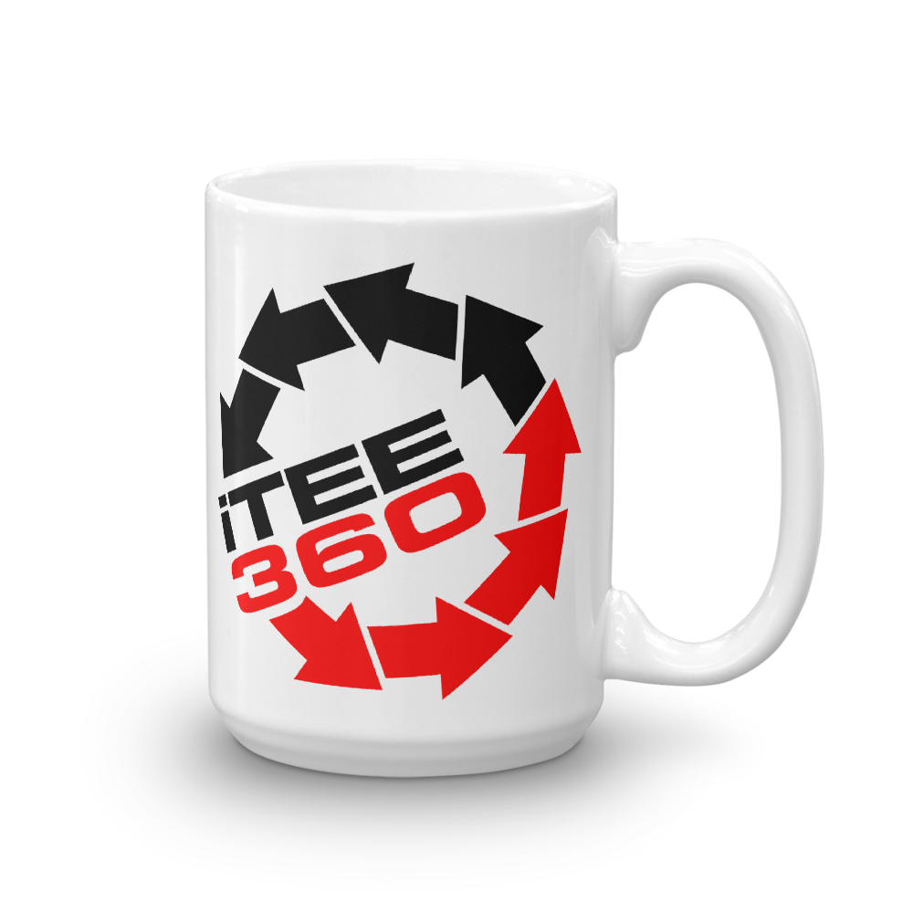 iTee360 I Tee 360 beverage coffee Mug - TaterSkinz