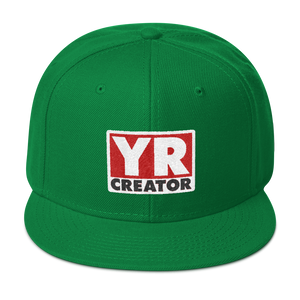 YR CREATOR YOUR MERCH ARTIST Snapback Hat - TaterSkinz