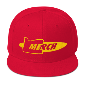 Oregon Merch Snapback Hat ~ ORMERCH.com