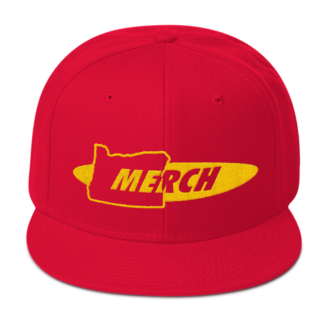 Oregon Merch Snapback Hat ~ OR MERCH .com