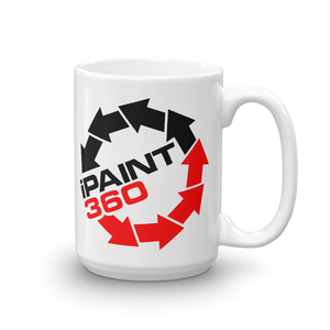 iPaint360 I Paint 360 beverage coffee Mug - TaterSkinz