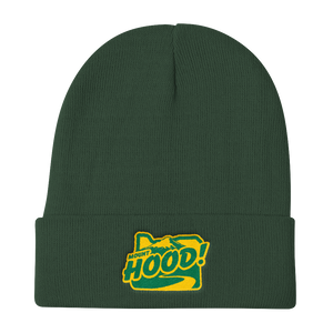Mount Hood Knit Beanie Oregon Merch Headwear - TaterSkinz