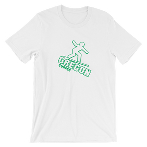 OREGON SURFER Tee Oregon tee shirt merch - TaterSkinz