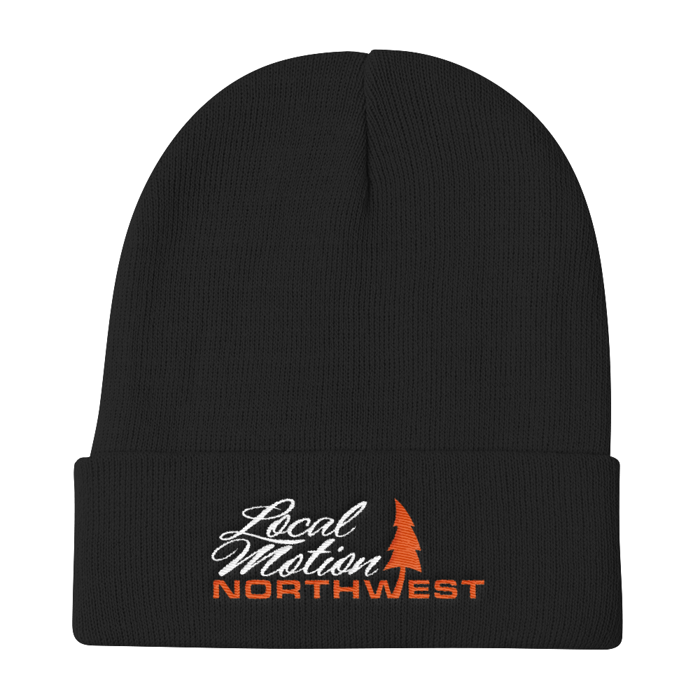 LOCAL MOTION NORTHWEST BEANIE ORANGE CRUSH - TaterSkinz