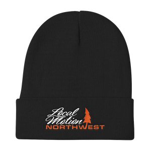 LOCAL MOTION NORTHWEST BEANIE ORANGE CRUSH