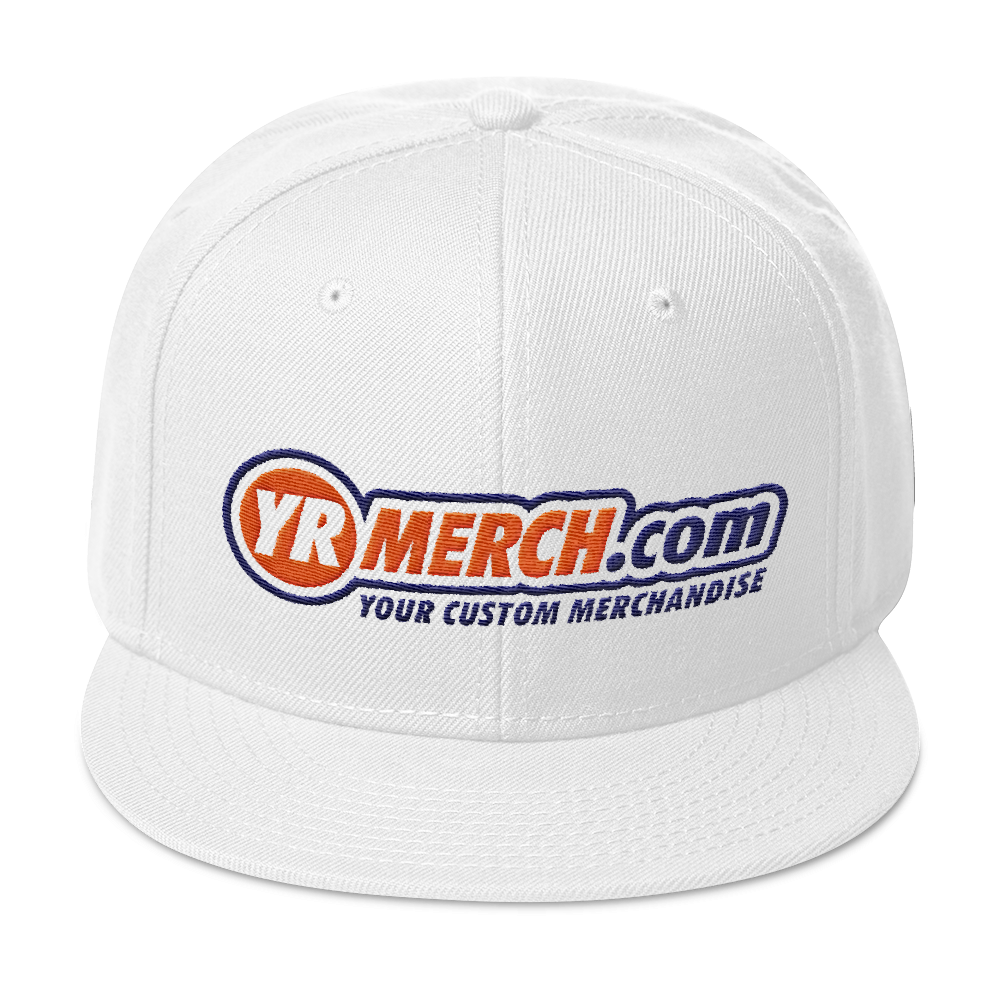 YR MERCH YOUR CUSTOM MERCH snapback hat - TaterSkinz