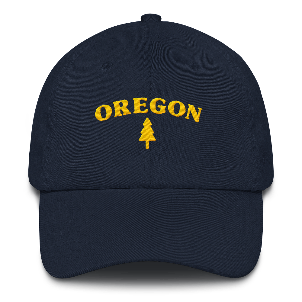 Oregon Tree Dad Hat Oregon Merch Headwear - TaterSkinz