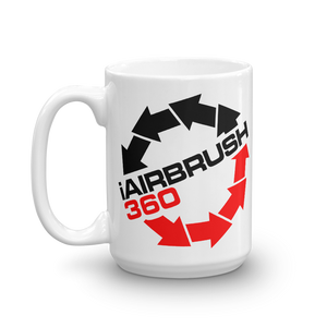 iAirbrush360 I Airbrush 360 beverage coffee Mug - TaterSkinz