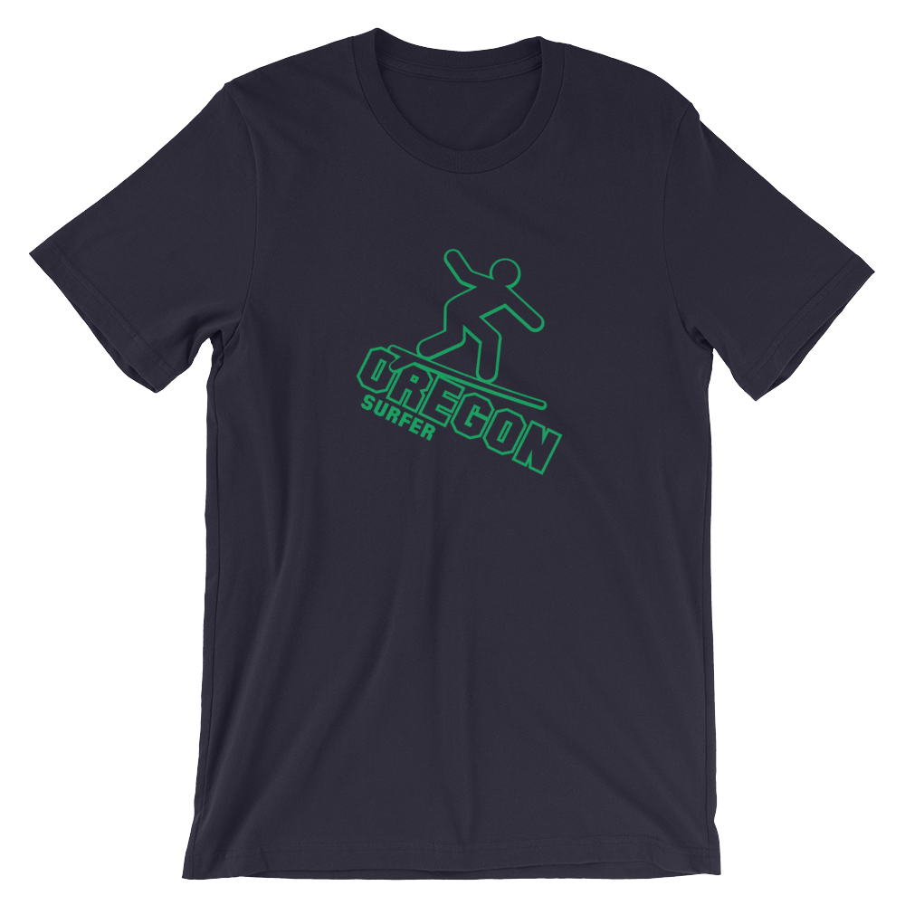 OREGON SURFER Tee Oregon tee shirt merch - Tom Tate Studios