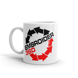 iEmbroider360 I Embroider 360 beverage coffee Mug - TaterSkinz