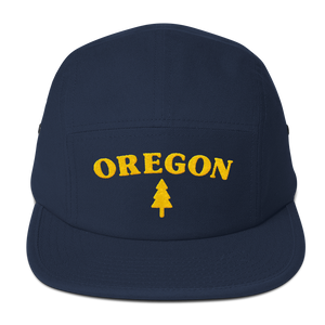 Oregon Tree Five Panel Cap