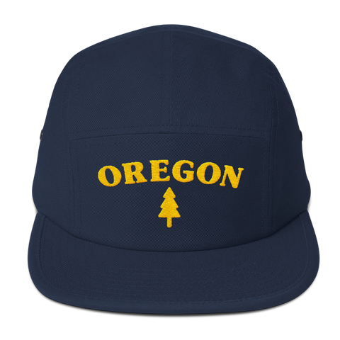 Oregon Tree Five Panel Cap - TaterSkinz