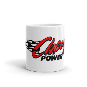 Chevrolet Chevy Power Mug - By Race Time Tee's - TaterSkinz