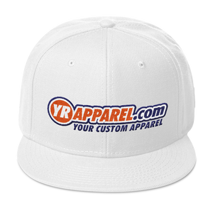 YR APPAREL .COM Snapback Hat YOUR CUSTOM APPAREL CLOTHES WEAR