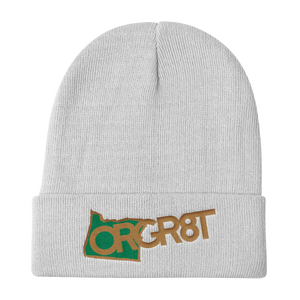 Oregon Gr8t Knit Beanie