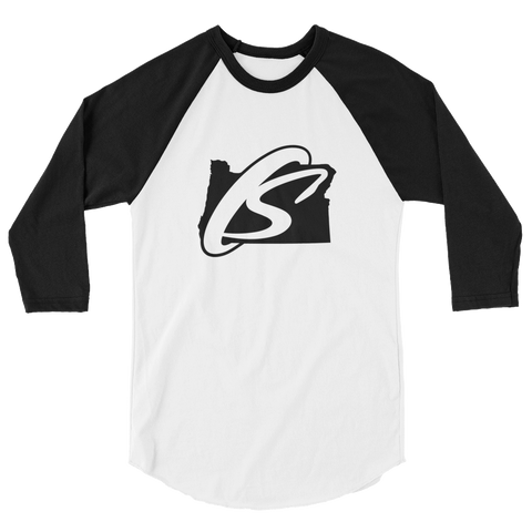 OREGON SPORTSWEAR 3/4 sleeve raglan shirt - TaterSkinz