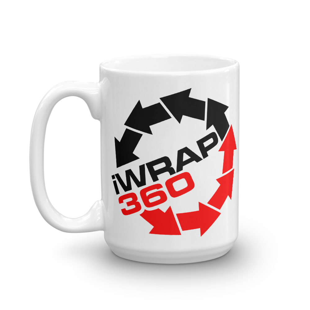 iWrap360 I Wrap 360 beverage coffee Mug - TaterSkinz