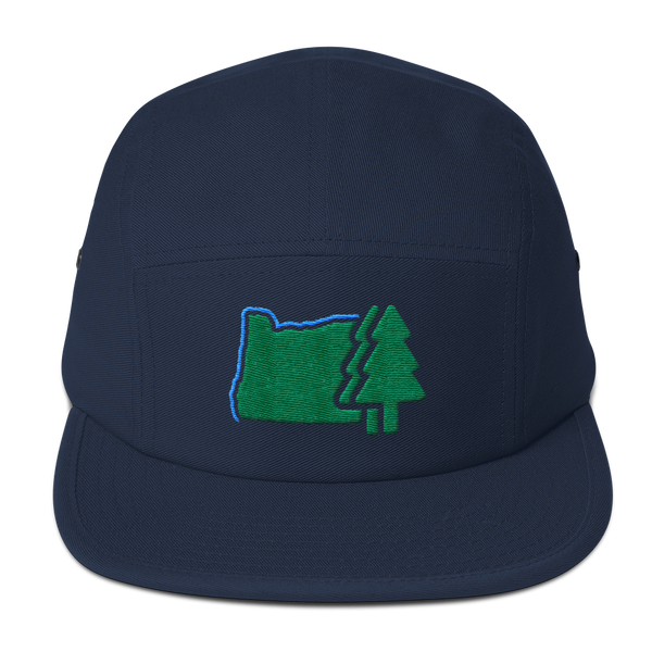 OREGONLAND Five Panel Cap Oregon Merch Headwear - TaterSkinz