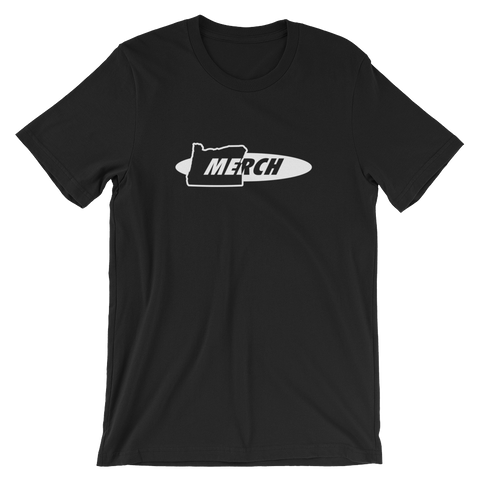 OREGON MERCH Short-Sleeve Unisex T-Shirt ~ ORMERC.com - TaterSkinz