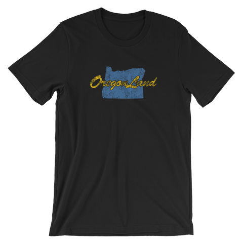 OREGONLAND VINTAGE Short-Sleeve Unisex T-Shirt