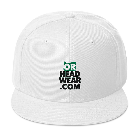 OREGON HEADWEAR .COM Snapback Hat Oregon Merch Headwear
