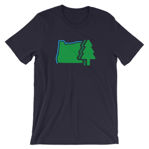 OREGON LAND Oregon State T-Shirt - TaterSkinz