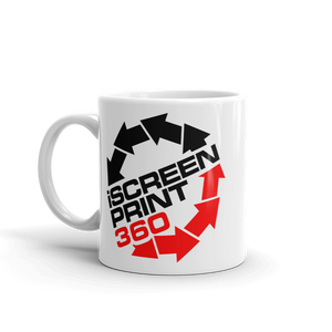 iScreenprint360 I Screen Print 360 beverage coffee Mug - TaterSkinz