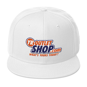 YR OUTLET SHOP .COM Snapback Hat YOUR OUTLET SHOP SHOPS STORE