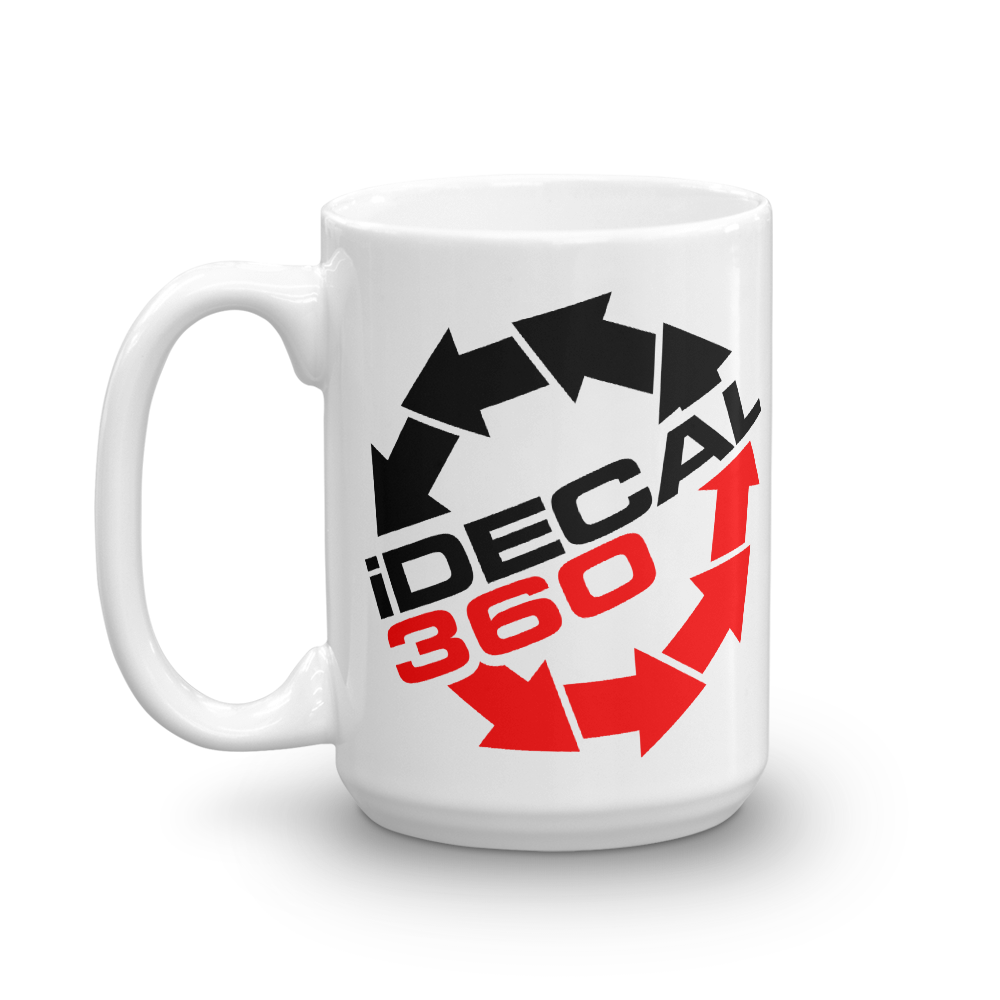 iDecal360 I Decal 360 beverage coffee Mug - TaterSkinz