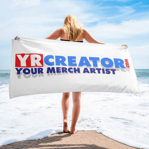 YR CREATOR .COM YOUR MERCH ARTIST Towel