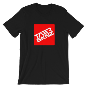 TaterSkinz in Red Short-Sleeve Unisex T-Shirt - TaterSkinz